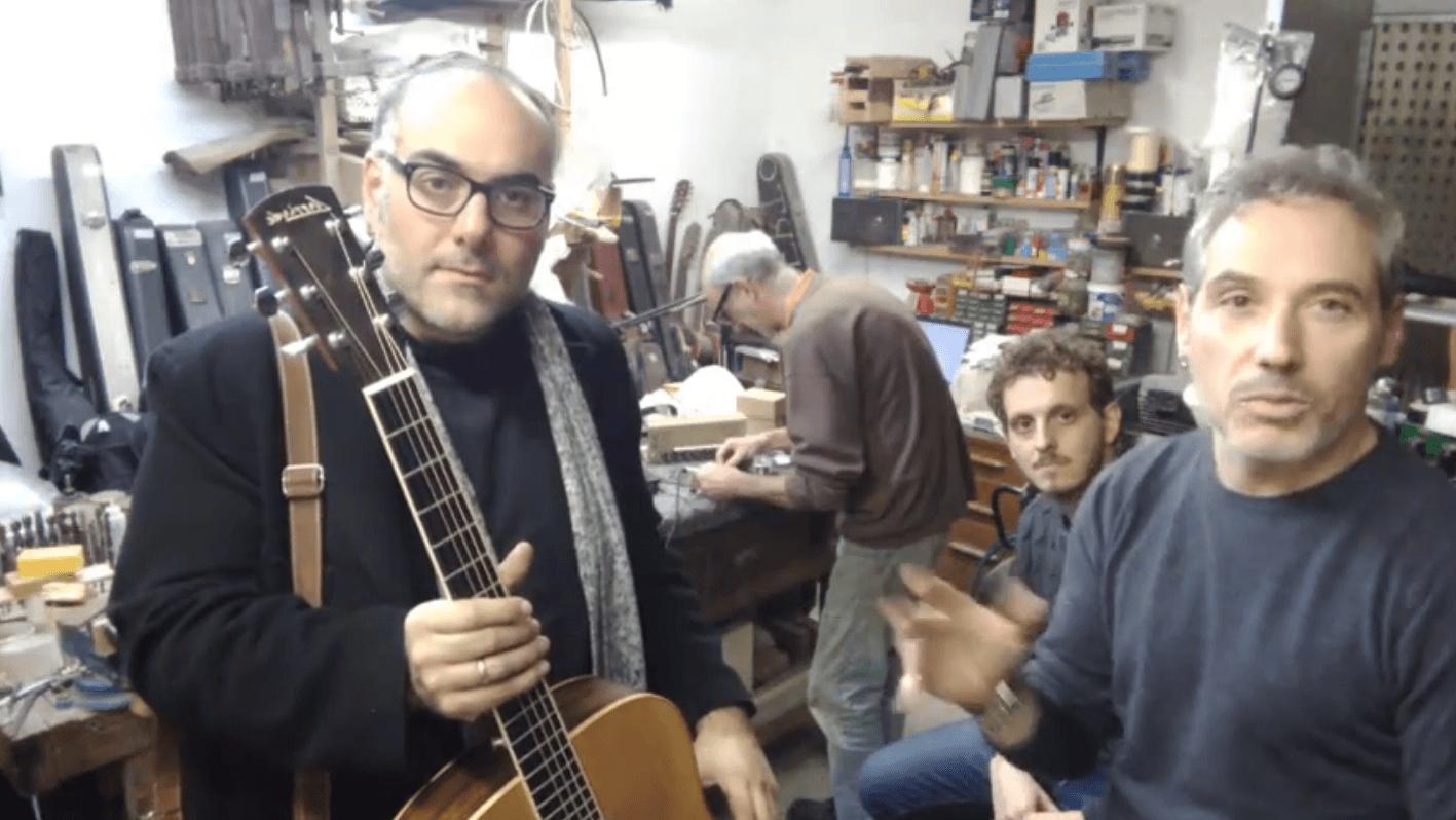Liuteria chitarre acustiche Beppe Carella
